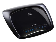 Linksys wrt120n router